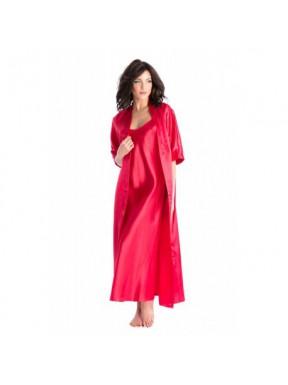 Ambra Rouge - Nuisette / Peignoir